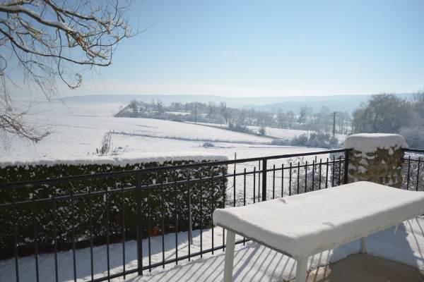 vue de la terrasse hiver 2018