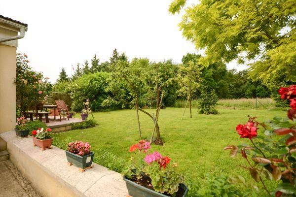 Le jardin et la terrasse privative