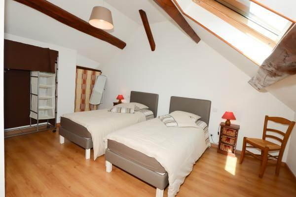 Grande chambre 2 lits 90X200