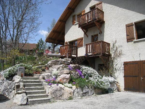 Gîte entre village et station de ski au coeur du Parc Naturel Régional du Vercors