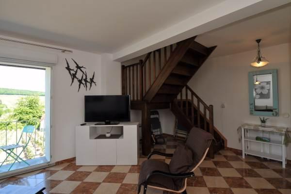 Accès étage : 2 chambres