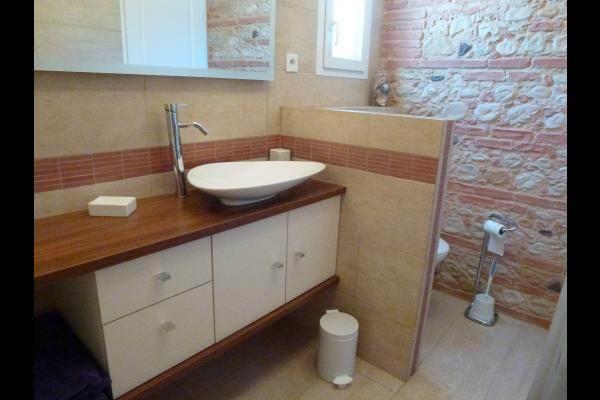 salle d'eau, douche italienne, wc