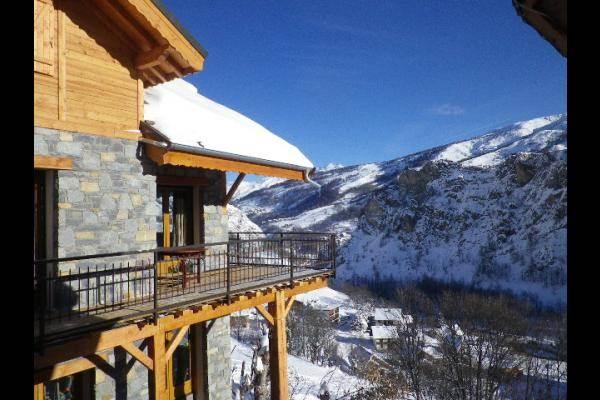 Chalet 12 personnes très belle vue Valloire - vue en hiver