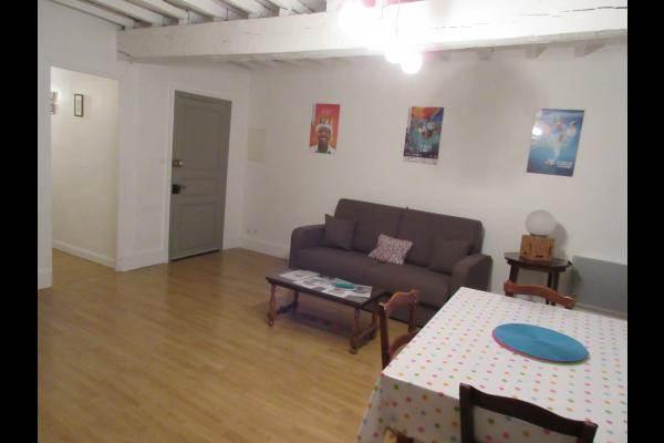 Séjour- Appartement 3, rue des écoles - Mirande