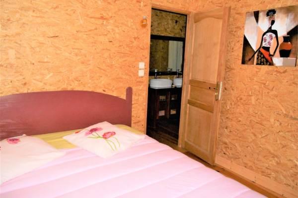 grande chambre lit king size 180X200