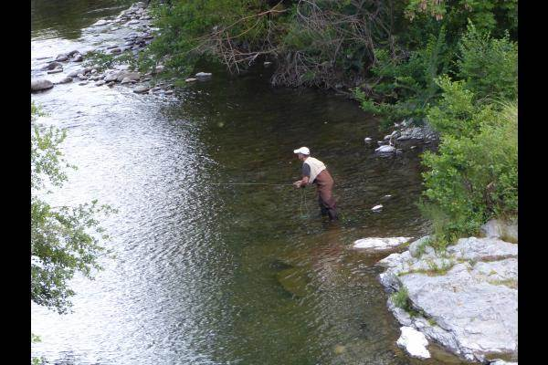 pêche à la truite en Cévennes