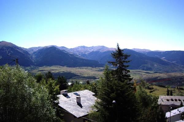 Une partie du panorama depuis le balcon