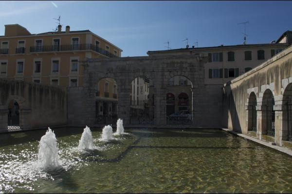 Fontaine d'eau chaude Dax