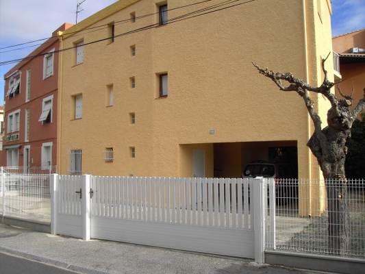 façade résidence côté rue des Flots Bleus
