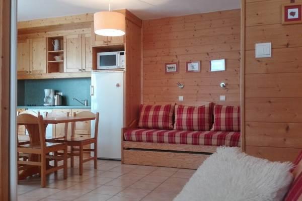 Appartement chaleureux et fonctionnel