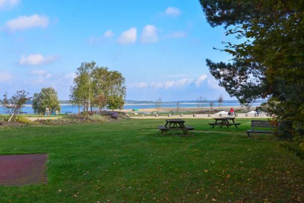 Lac du Der, détente, espace jeux et pique-nique