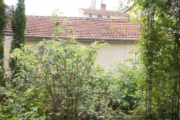 Vue  appartement sur jardin