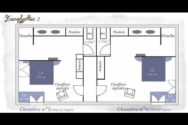 Plan du 2me étage