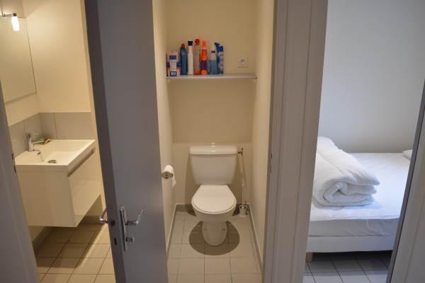 salle d'eau, wc séparé, chambre cabine
