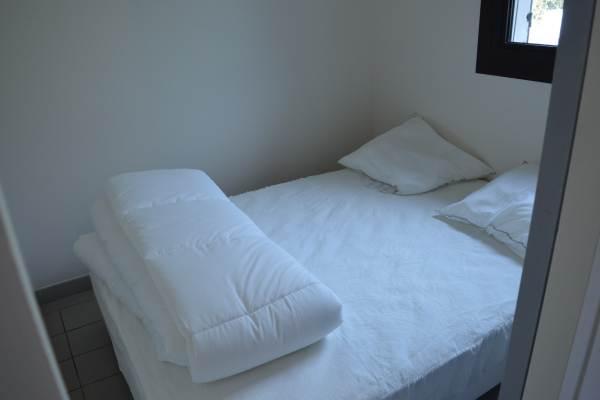 Chambre cabine en rez de chaussée lit double