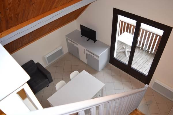 vue des escaliers