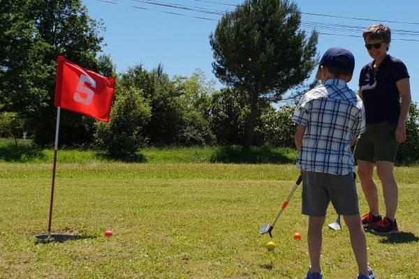 Swin-Golf en famille