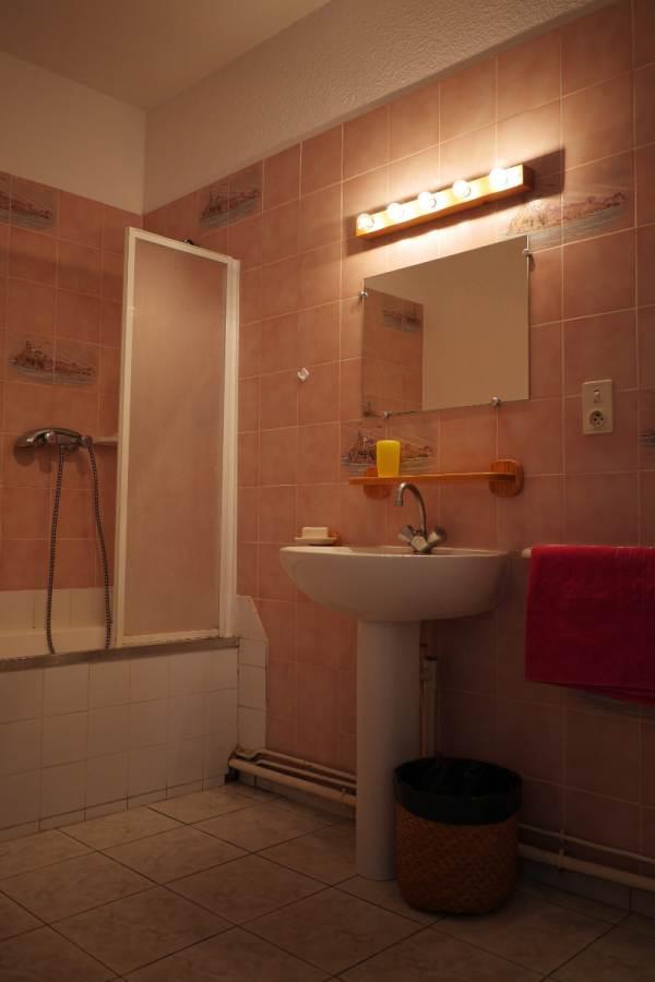 Salle de bains Chêne vert