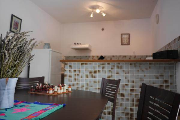 Salle à manger et cuisine Chêne vert