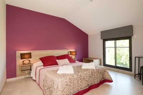 chambre lit double en 160