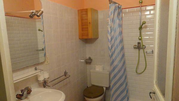 la Salle d'eau douche-lavabo-wc