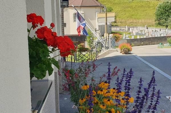 Façade Les Tavaillons Rue Royale vue sur le pont Charlemagne