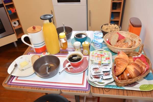 Possibilité de petit déjeuner sur demande