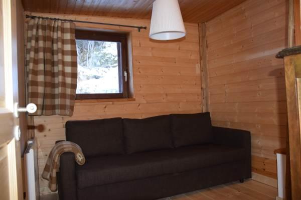 La chambre au canapé convertible