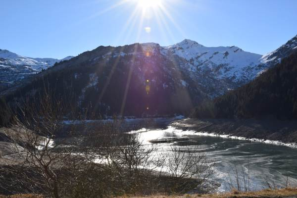 Le lac de St Guérin