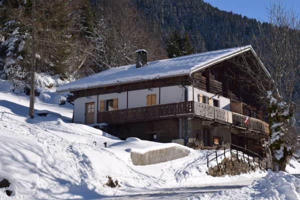Arêches-Beaufort, 6-10 personnes, appartement dans chalet d'alpage
