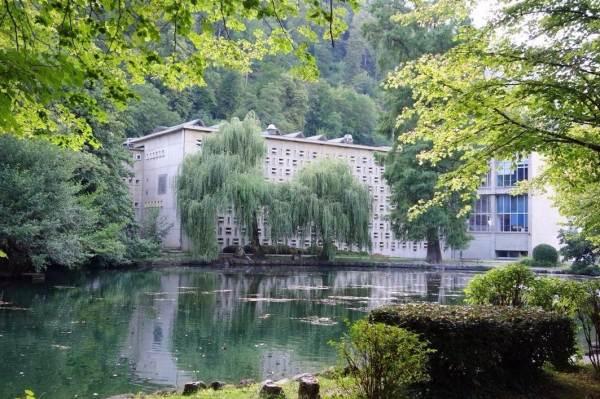 Parc Thermal et lac des Quinconces