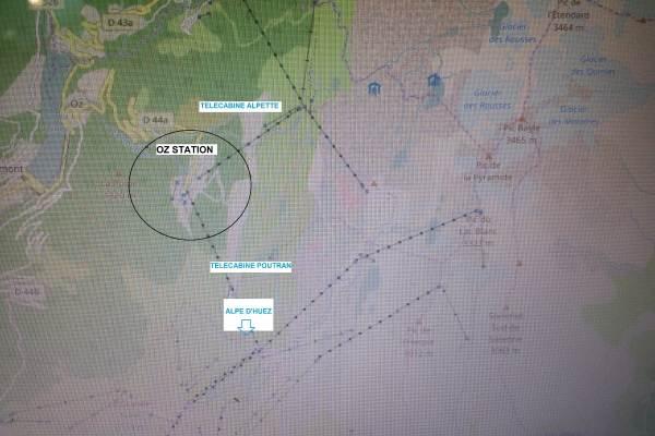 Oz en Oisans - Télécabines du domaine skiable jusqu'à 3300m