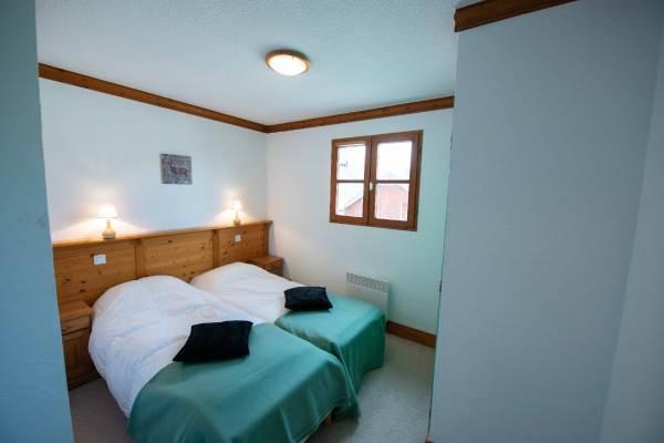 Chalet Daim; une chambre avec salle de bain personnelle