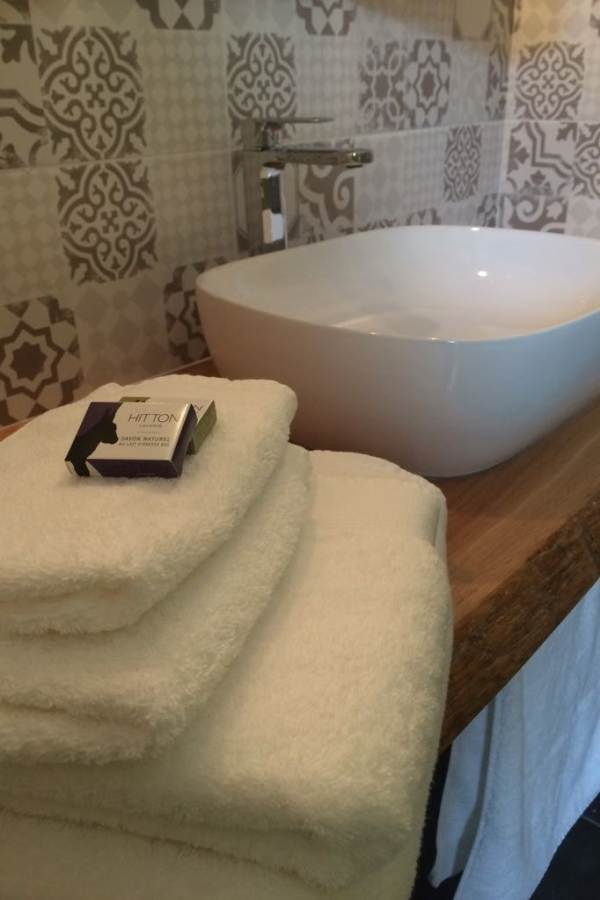 Chambre Côté jardin, la salle de bain