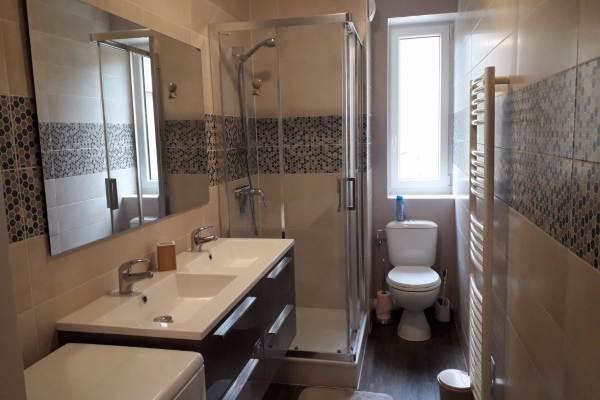 Le Crêt de la Neige - La Barillette -  Salle d'eau double vasque