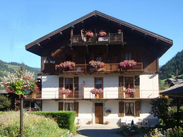 le Chalet Bel Alp en été