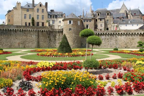Le jardin des remparts de Vannes